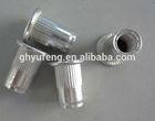 fasteners 5056 aluminum flat head knurled rivet nut M6 furniture screw and bolts
