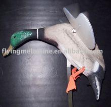 Plastic motorized hunting duck decoy