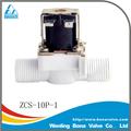 Plástico líquido válvulas solenóide para aquecedor solar de água zcs-10p-1