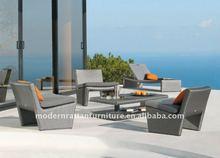 Patio Conversation Set - Outdoor Rattan Furniture