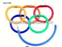 Lu-7102 promotional ring shape pen