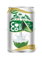 Supplier 330 ml coconut milk with pulp
