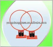 Elastic basketball ring