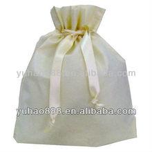 Non-Woven pure white color cosmetic pouch