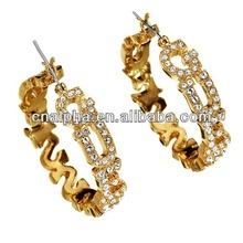 ears pictures of gold earrings custom printed earring cards