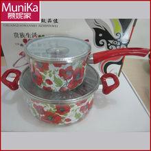 Precision Pour Saucepan/aluminum non-stick sauce pot enamel cookware set (DG-01,NG-01)