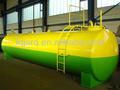 de fama mundial horizontal de combustible del tanque de almacenamiento del fabricante