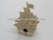 wooden model crafts ship
