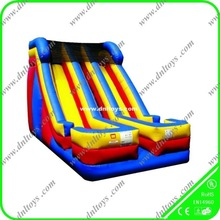 new style giant blue inflatable water slide for best sale