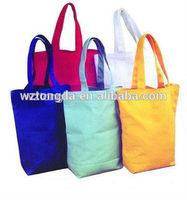 2014 fashion customized organic promotional foldable cotton shopping bag