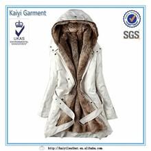 2015 pu winter parka coat, hood jacket for women