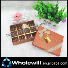 Paper Chocolate Candy Packaging Boxes