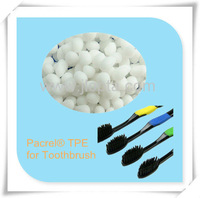 Quality TPE thermoplastic elastomer raw material for toothbrush usage