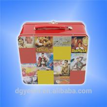 handle tin can,handle tin container,rectangular tin box with handle