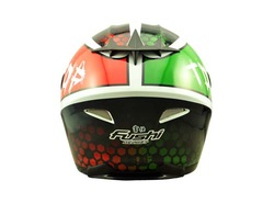 ECE Colorful Bright Full Face Motorcycle Helmet 606