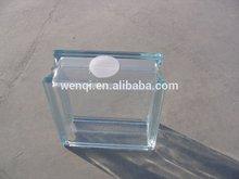 Building decorative glass block