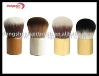 Professional goat hair bamboo kabuki brush, cosmetic implement, makeup brushes set