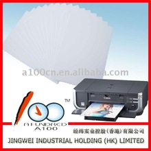 Double-sided inkjet matte paper of name cardstock 230G/A4