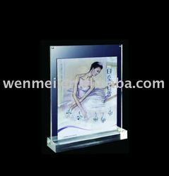 (PF-025) Acrylic Megnetic Desktop Photo Frame/ Plexiglass Picture Frame