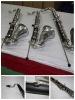 woodwind instrument Bass Clarinet (Bb ,low-E)