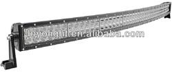 "Hot sale Curved led light bar 40"" 240W led light bar for Trucks SU/4WD off road led light bar"