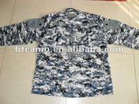 Military ocean camouflage uniform