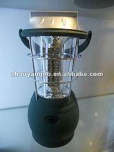 36 led solar camping lantern