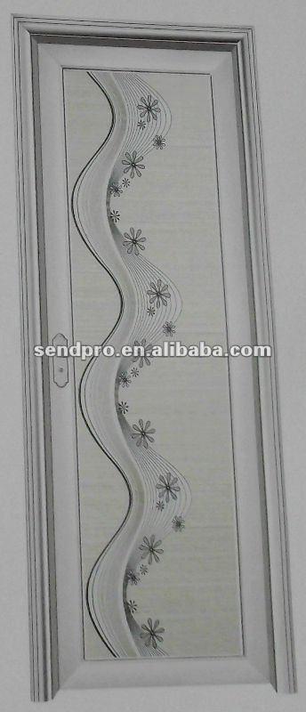 Puertas De Aluminio Blanco Para Baño:Color blanco marco de aluminio puerta del aseo-Puertas