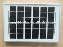 Small mono Bosch solar panel kit 5w 10W 15W for street light system