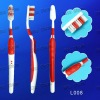 L008) Simple Style Anti-slip Handle Toothbrush for Adult in Hygiene Kit
