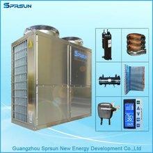stainless steel hot water storage tank heatpump air to water