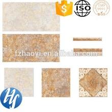 HY14-1185 a set of ceramic tile 3D inkjet antique design ceramic floor/wall tiles
