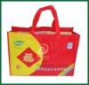 Wholesale Lamination non woven reusable shopping bag