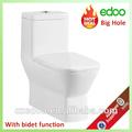 Caliente- venta de oriente medio& indio de diseño exclusivo 4 pulgadas del baldeo de salida de una sola pieza wc inodoro