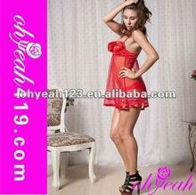 Wholesale unique top end red plus size sexy lingerie