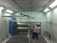 QX3000 furniture water based paint spray booth