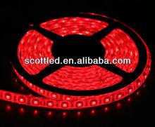 flexible 5050 rgb waterproof strip light ip65 60led/m use outdoor