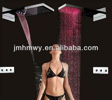 led shower mixer set,concealed shower rain shower set stainless steel