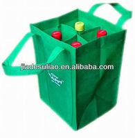 4 bottles Non Woven wine Bag/High quanlity non woven wine bag/Non woven tote wine bag