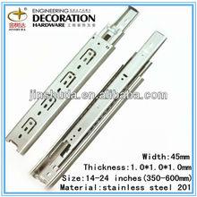 JSD4510 Stainless Steel Mini Ball Bearing Drawer Slides