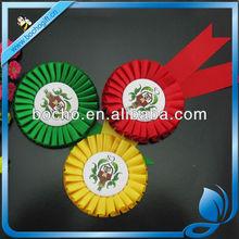 colorful Award Ribbon rosette