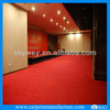 latex backing non-woven red carpet exhibition carpet for floor