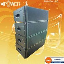 LA-8 Parlante Profesional Line Array Sistema De Audio (ISO)
