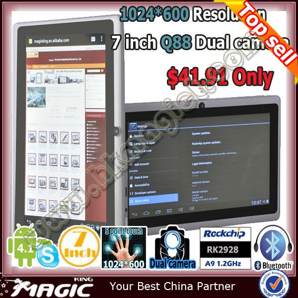El más barato 7 pulgadas q88 4.1 androide tablet unidos