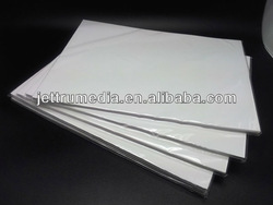 High quality glossy photo paper(115g, 135g,150g,180g,200g,230g,255g) with neutral packing