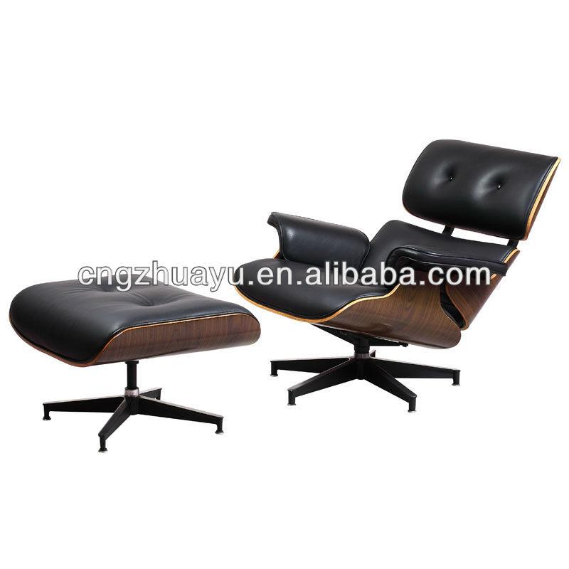 eames lounge chair ottoman white ash - Wohnzimmer Sessel Modern