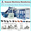 Fully automatic cement block making machine QT6-15 manual block making machine price