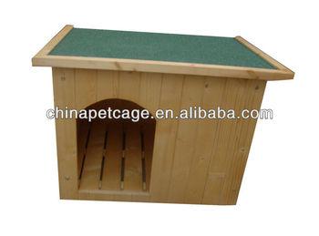 Outlets flat wooden dog kennel