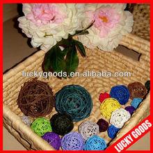 top quality wholesale customized garden rattan ball
