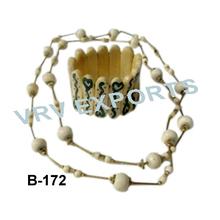 Sculpté à la main bracelets, horn bone bangles&, bracelet avec le collier